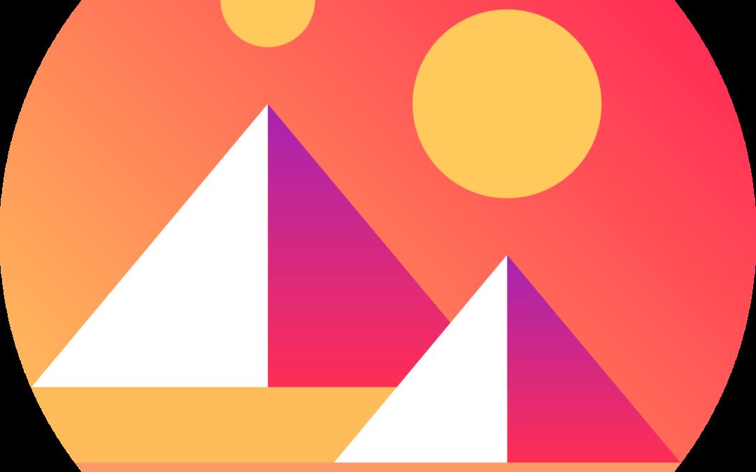 Decentraland MANA Logo | The Giving Block