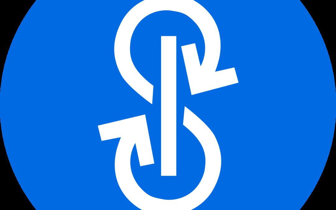 Yearn Finance YFI Logo | The Giving Block