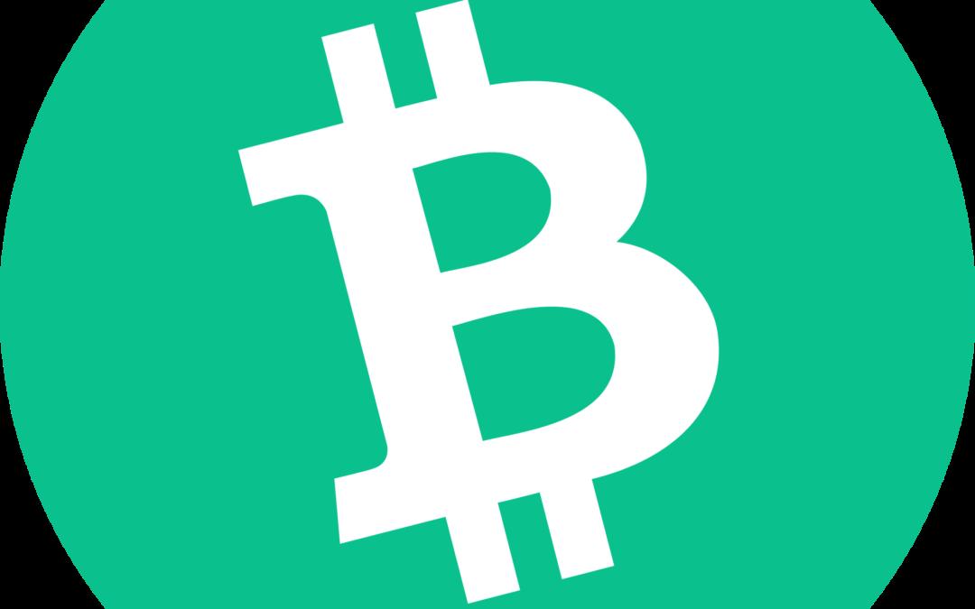 Bitcoin Cash BCH Logo | The Giving Block