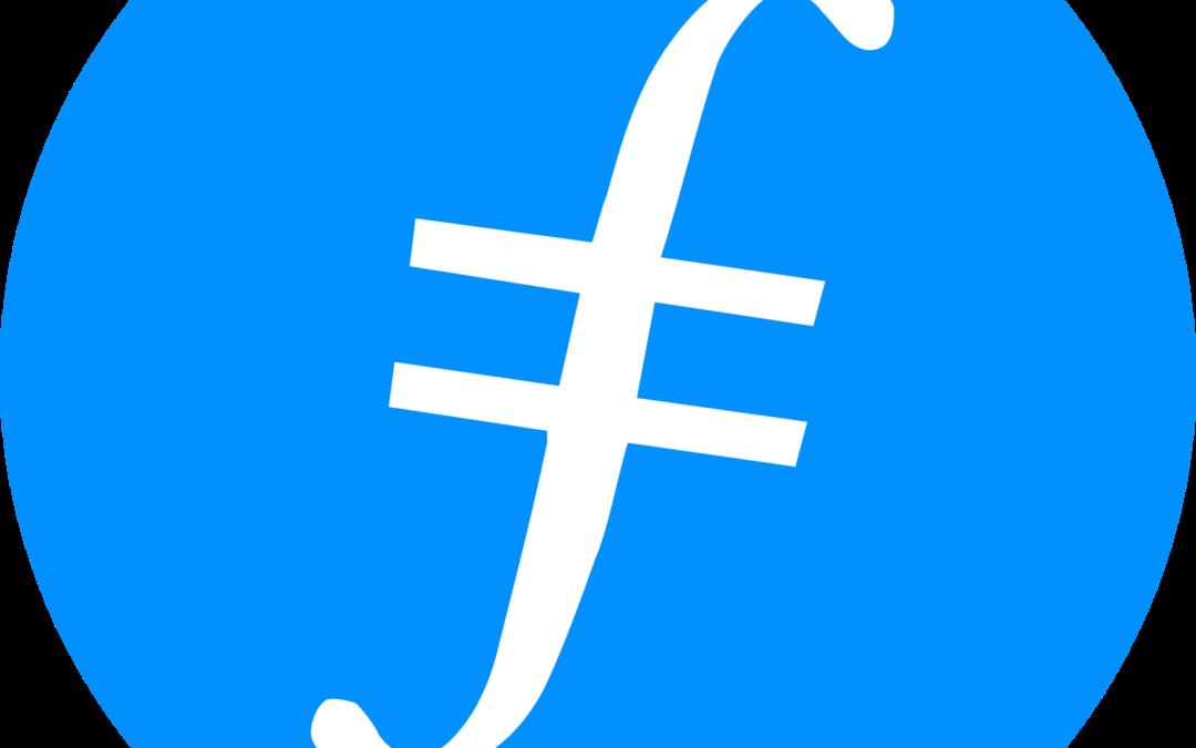 Filecoin FIL Logo |. The Giving Block