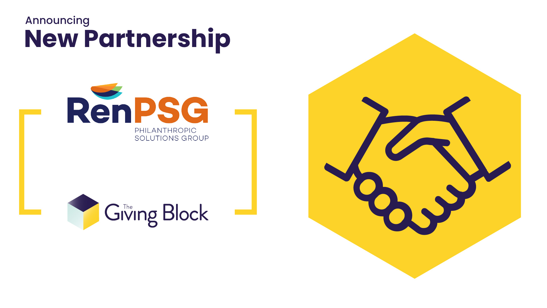 The Giving Block and RenPSG Announce Partnership