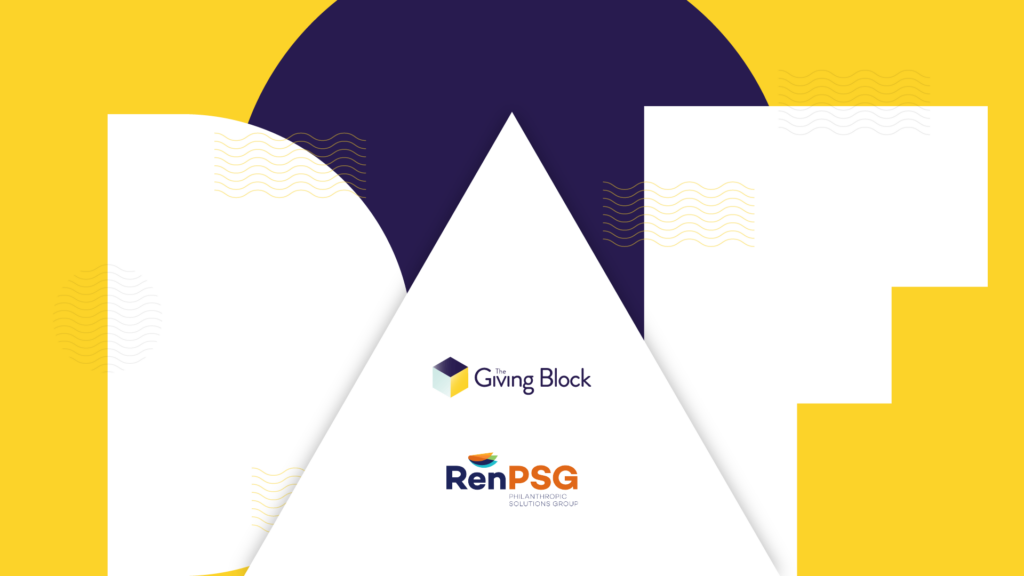 RenPSG and The Giving Block welcome 11 new crypto-friendly DAF programs for UNC System institutions   The Giving Block