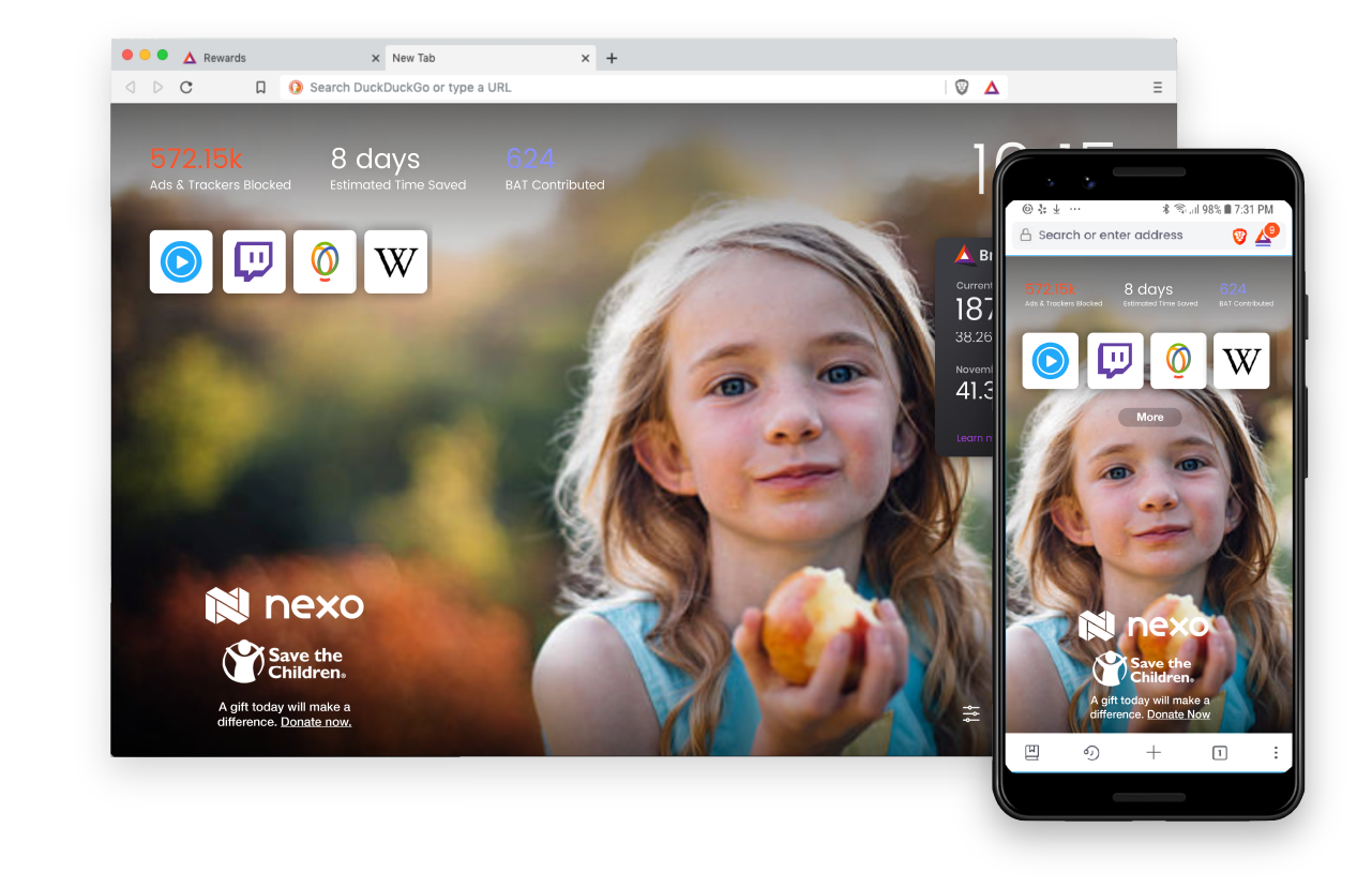 Case Study: Brave Ads | The Giving Block